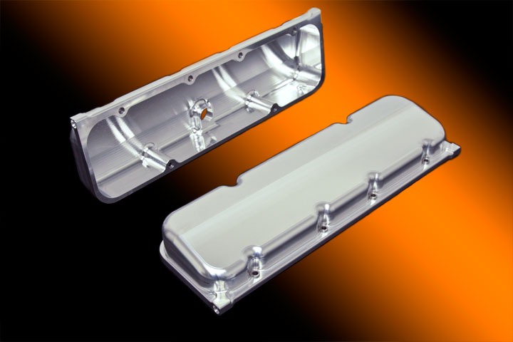 Brodix 10 Degree Chevy Billet Valve Cover